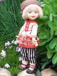Кукла Ленигрушка .Клеймо-мишка.