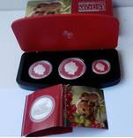 Набор монет Австралия Год крысы 2008 Серебро 999 пробы