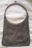Сумка гаманець (срібна) вага 364 г.