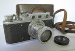 Фотоаппарат ФЭД НКВД - СССР №129233. ФЭД 1:2 F=50 м/м