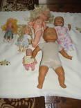 Куклы 6 штук разные