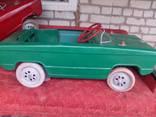 Педальная машина Львовянка зелёная
