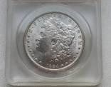 Доллар США 1884 года Морган слаб MS-60