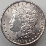 1 доллар Морган США 1896 XF