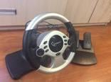 Игровой руль USB str-shockforce gembird