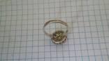 Кольцо с вставками, серебро 925, фото №6