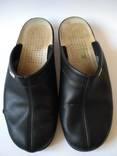 Чорні тапочки 43 розмір. Лот 1(325). photo 2
