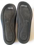 Чорні тапочки 43 розмір. Лот 1(325). photo 7