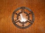 Подставка артель Большевик Днепропетровск,чугун, фото 5