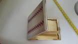 Элитный портсигар в эмалях и позолоте, фото №10