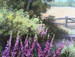 Картина Солнечный июль, 25х30 см. холст, масло, оригинал, с подписью автора photo 2