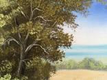 Картина Солнечный июль, 25х30 см. холст, масло, оригинал, с подписью автора photo 3