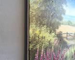 Картина Солнечный июль, 25х30 см. холст, масло, оригинал, с подписью автора photo 4