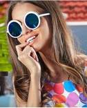Модные женские круглые очки Aolise Polarized + подарочек photo 2