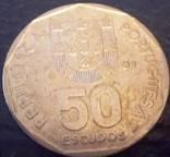 50 ескудо1989    Португалія, фото №3