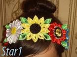 Украшение - ободок для волос Украинский стиль