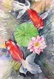 Золотые рыбки на удачу