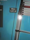 Телескопическая алюминиевая лестница. photo 4