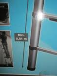 Телескопическая алюминиевая лестница. photo 5