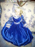 Кукла фарфор 48см, фото №3