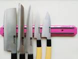 Планка магнитная для ножей, рейка - держатель.