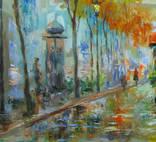,,Осень в Париже,, 40x61см .А.Горб photo 4