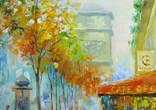 ,,Осень в Париже,, 40x61см .А.Горб photo 5