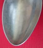 Столовая ложка. Серебро 84 пробы, фото №7