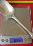 Столовая ложка. Серебро 84 пробы, фото №10