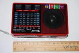 Радиоприёмник Golon c фонариком и МР-3 RX-8866 photo 4