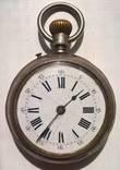 Серебряные часы Roskopf