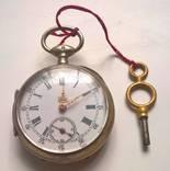 Серебряные карманные часы 1.