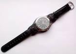 Мужские часы с удобным ремешком черные photo 2
