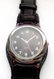 Мужские часы с удобным ремешком черные photo 4