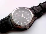 Мужские часы с удобным ремешком черные photo 5