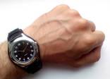 Мужские часы с удобным ремешком черные photo 8