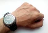 Мужские часы с удобным ремешком черные photo 9