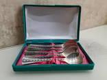 Комплект чайных ложек 916* звезда photo 1