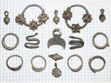 Ювелирные украшения из серебра Киевской Руси.