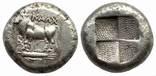 Тетрадрахма Bithynia Kalchedon 387-340 гг до н.э. (65_2)