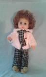 Кукла в шубке на резинках - 51 см