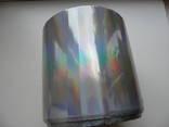 Полиэфирная пленка , цветопередача как у голограммы , более 150 метров ширина 105 мм photo 1
