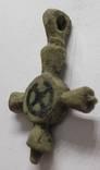 Крест КР емали