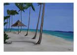 Тропический пляж  50Х70