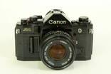 Canon A-1. № 1344466. Объектив FD 50mm 1:1.8 №5292923