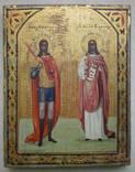 Икона Святые Михаил, Варвара