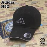 Adidas №2 Высокое качество. Кепки | Бейсболки Мужские | Женские.