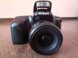 Фотоаппарат Никон Ф50 зеркала, пленочный. Без объектива.