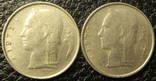 1 франк Бельгія 1973 (два різновиди), фото №2