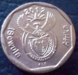 10 центів 2012  року.    ПАР, фото №3